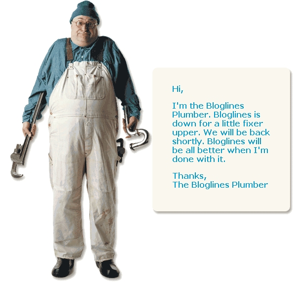 Bloglines Plumber