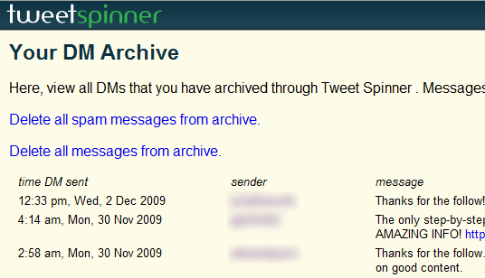 Tweet Spinner Review: A Powerful Application to Manage Your Tweets