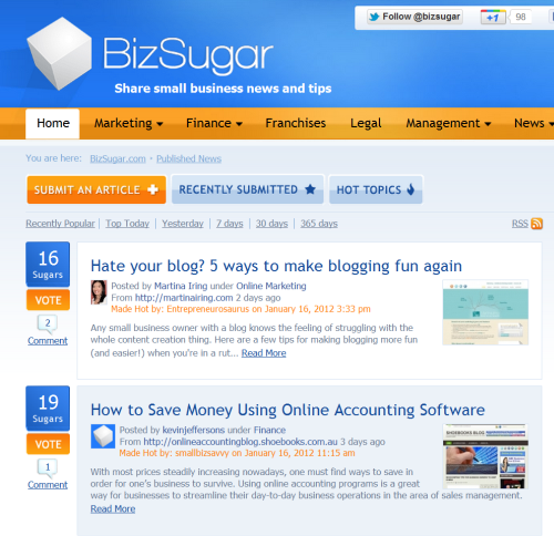 5 Things I've Learned from Running BizSugar